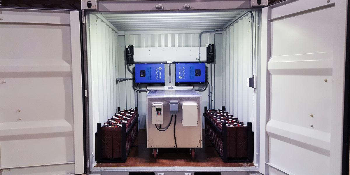 Containerized System Interior